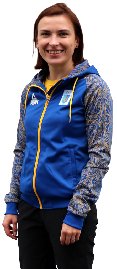 Olena Kostevych ELEY sponsored athlete