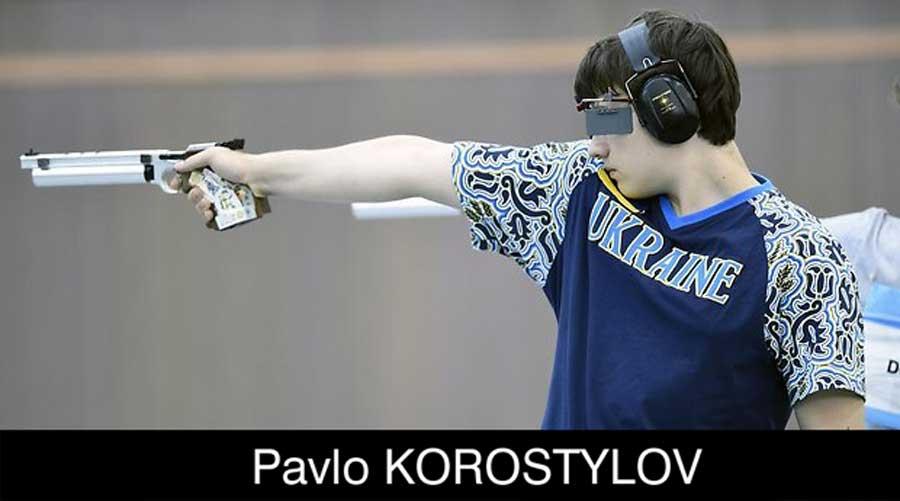 Pavlo Korostylov ELEY sponsored shooter