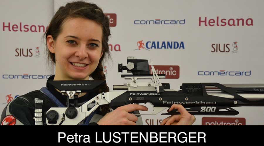 Petra Lustenberger ELEY sponsored shooter