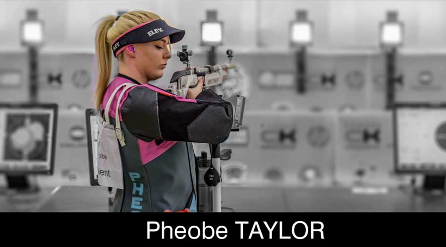 Phoebe Taylor ELEY sponsored shooter