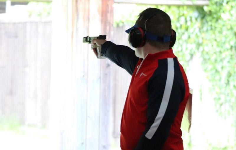 Sam Gowin pistol shooting 25m rapid fire - improve shooting performance