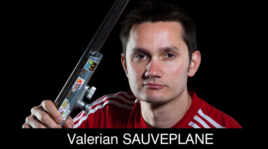 Valerian Sauveplane ELEY sponsored shooter