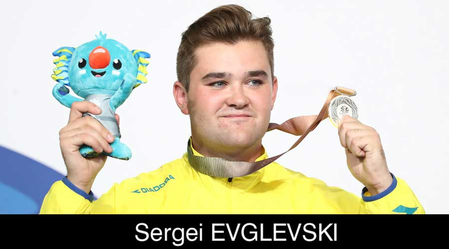 Sergei Evglevski ELEY sponsored shooter