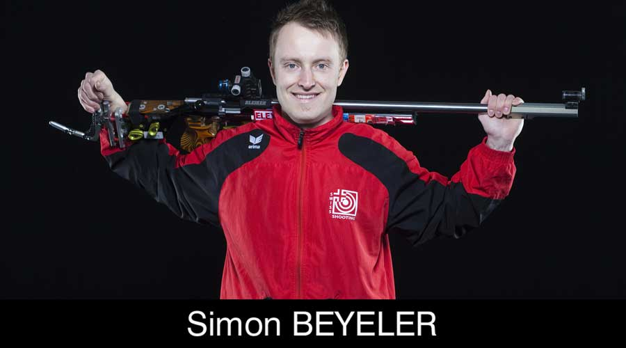 Simon Beyeler ELEY sponsored shooter