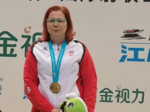 Snjezana Pejcic - Gold Medal at ISSF Beijing World Cup