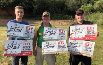 ELEY Speed Steel Challenge - July 20th winners