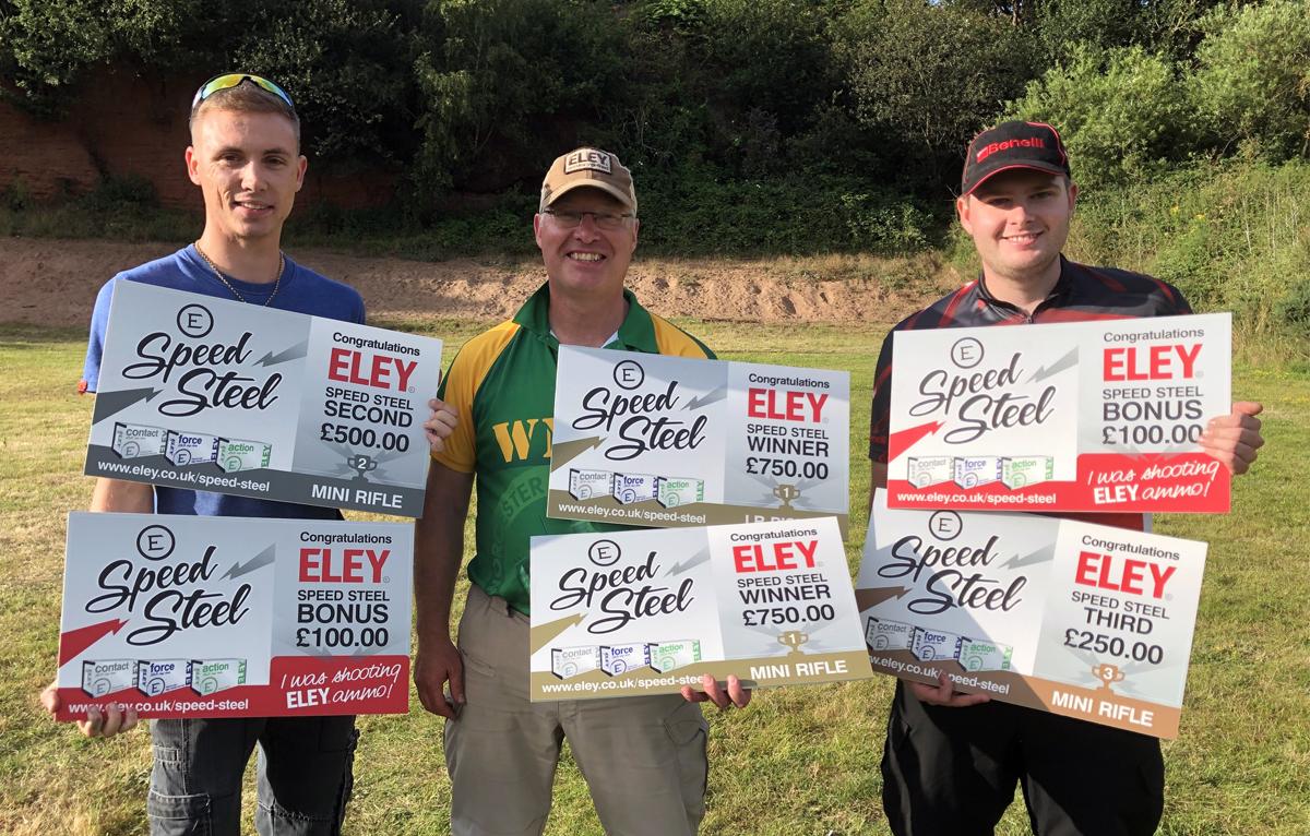 ELEY Speed Steel Challenge - July 20th winners