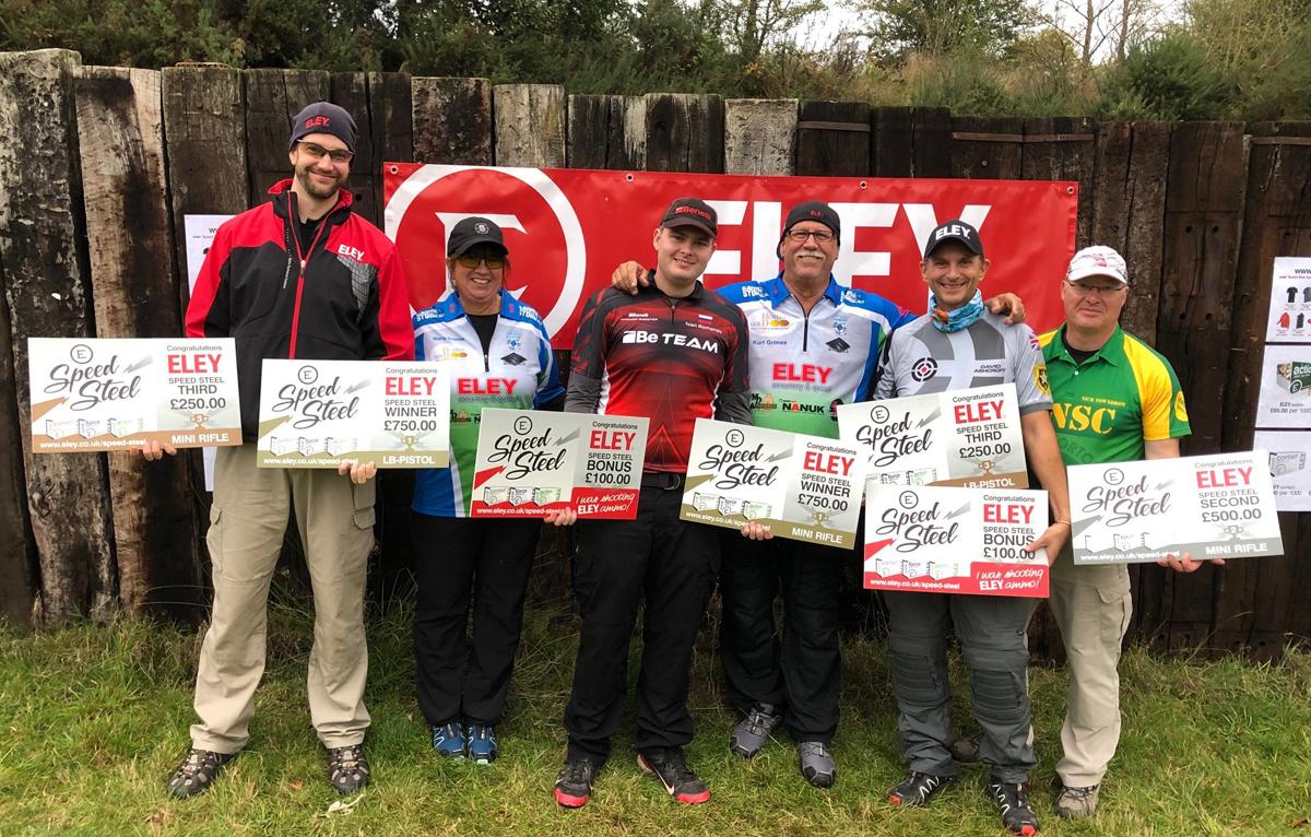 October Speed Steel Challenge winners