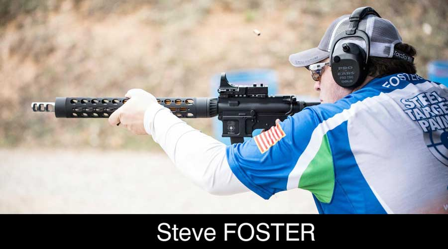 Steve Foster ELEY sponsored shooter