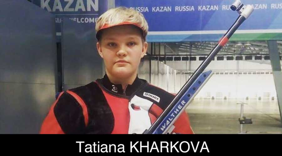 Tatiana Kharkova ELEY sponsored shooter