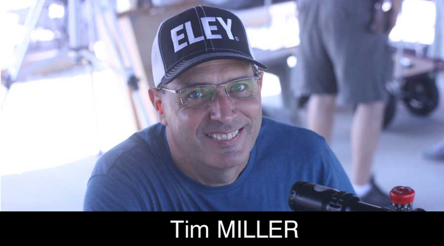 Tim Miller ELEY sponsored shooter