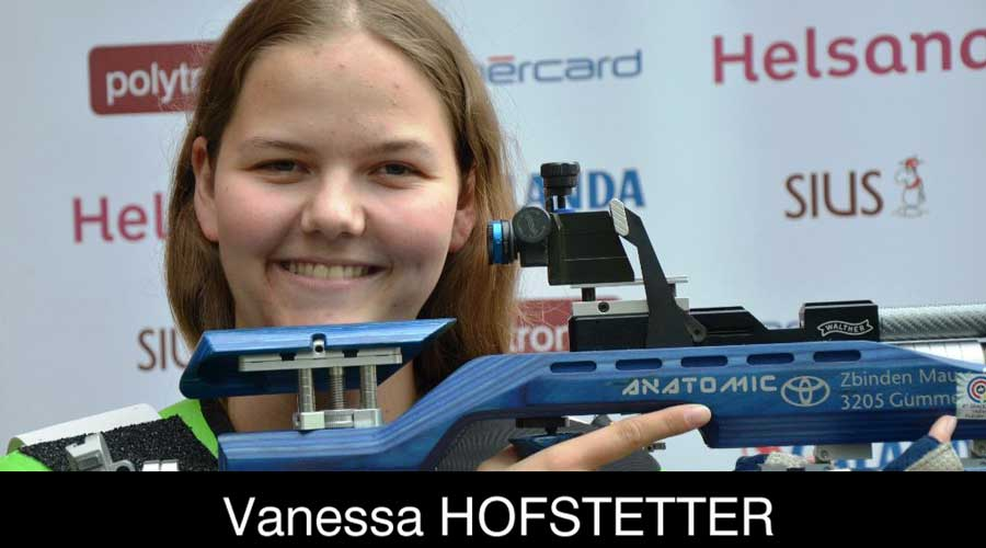 Vanessa Hofstetter ELEY sponsored shooter