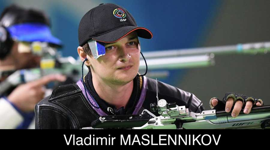 Vladimir Maslennikov ELEY sponsored shooter