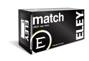 ELEY match .22LR ammunition