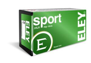 ELEY sport .22LR ammunition